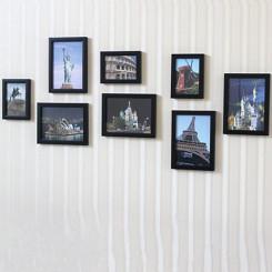 一面墙 创意组合照片墙 8个相框(11款可选)