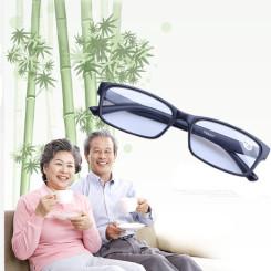2014新款男女老花眼镜 树脂防疲劳老花镜 老人镜超轻包邮送眼镜盒