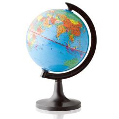 得力新版教学桌面型地球仪