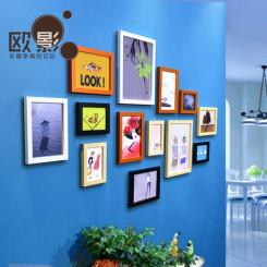 13框创意照片墙  照片组合