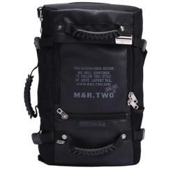 M&R.Two 超大容量户外双肩包 男休闲旅行背包
