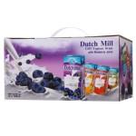 Dutch Mill 达美 蓝莓味酸奶180ml*12礼盒装 泰国进口