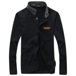 摩根凯萨 2015新款男装外套 春季立领韩版休闲修身夹克