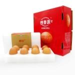 德青源 爱的鲜鸡蛋 16枚/盒