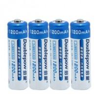 倍量 5号电池1200毫安 鼠标遥控玩具镍镉可充电电池5号正品 4节装