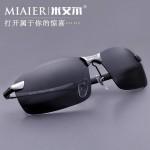 米艾尔 男士太阳镜偏光镜 开车驾驶司机镜潮墨镜男款运动太阳眼镜