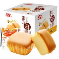 三惠 蜜方鲜蛋糕500g特产西式蒸小面包鸡蛋糕点心早餐零食品