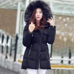 佳雪利 2015棉服女装中长款加厚修身大毛领羽绒服冬装棉衣 多款可选