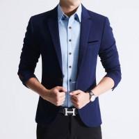 斐卓 秋季韩版男士修身小西装一粒扣西装外套 5色可选