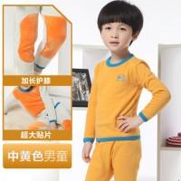 南极人 婴幼儿男女童秋冬季加绒加厚保暖内衣套装 秋衣秋裤 18款可选