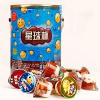 星球杯 巧克力浆饼干粒 儿童休闲零食大礼包 大杯/中杯 120g*2袋