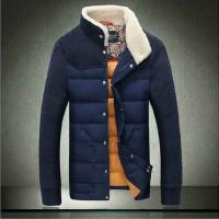 DoaVsng 冬季男士羽绒外套 韩版修身加厚立领羽绒服青年男装 2色可选