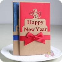 送一张手写的贺卡,给Ta来自新年的祝福