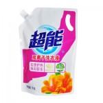 超能洗衣液双离子焕彩新生1kg/袋装x2