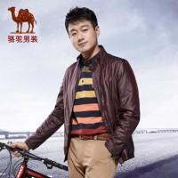 佟大为同款!Camel骆驼 男士秋季外套 新款立领休闲青年夹克 3色可选