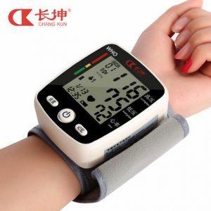 长坤 CK-W115 充电式电子血压计 家用语音手腕式全自动量高血压测量仪器