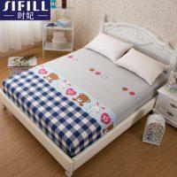时妃 全棉床笠单件 纯棉床罩 床单 席梦思保护套 1.5 1.8m 床垫套