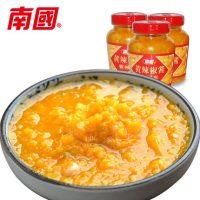 南国 黄灯笼辣椒酱135gx3瓶 海南特产剁椒酱蒜蓉香辣酱 拌面酱拌饭酱