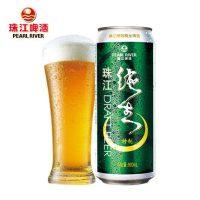 珠江啤酒 珠江特制纯生 国产精酿生鲜黄啤酒听装500ml*12罐整箱装