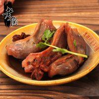 老侯 鸭肫特产500g休闲鸭肉类零食独立真空小包鸭胗特价鸭珍鸭屯
