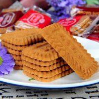 利拉 焦糖味饼干1000g 比利时风味饼干58包174片 休闲零食大礼包