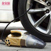 金宜佰 JYB-X005车载吸尘器充气汽车打气泵12V车内车用干湿两用强大功率四合一