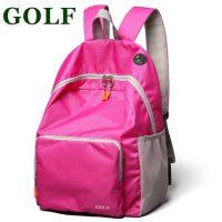 美国品牌GOLF高尔夫 双肩包女男背包 防水超轻便携带旅行包户外包折叠包 多色可选