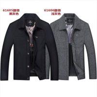 俞兆林 商务休闲纯色爸爸装秋装外套 中老年人男士夹克衫上装衣服 多款可选