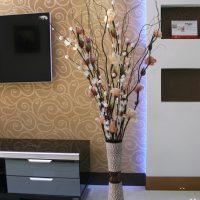 花卉人生 高端仿真花套装 客厅落地叶脉干花 室内假花装饰花 混合插花花艺 多款可选