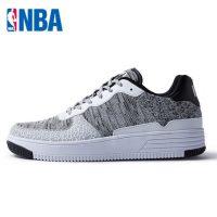 NBA男鞋 板鞋2016新款空军一号风格透气时尚舒适潮流复古滑板鞋 5色可选