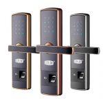 Dorlink多灵 D68指纹锁家用防盗门密码锁门锁电子门锁大门智能锁 多色可选