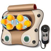 璐瑶 LY-585A颈椎按摩器仪颈部腰部肩背部腰椎全身靠垫多功能按摩枕头家用 2色可选