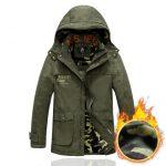 Afs Jeep战地吉普 男士冬装棉衣加绒保暖休闲男装外套中长款棉袄 多款可选
