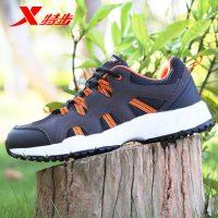XTEP特步 登山鞋防滑保暖徒步鞋透气耐磨越野跑鞋秋冬户外鞋男鞋 2色可选