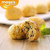 mage's麦吉士 小酥组合1000g 山核桃/芝麻口味一口酥休闲食品