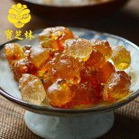 宝芝林 桃胶天然半野生食用桃花泪可搭皂角米雪燕雪莲子 250g