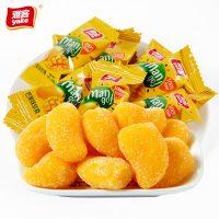 雅客 芒果椰子糖软糖水果味果汁橡皮糖500g年货糖果批发散装喜糖