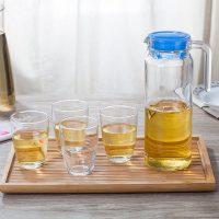 Luminarc乐美雅 水具套装 凉水壶套装 水杯套装 玻璃杯子套装 家用1壶4杯
