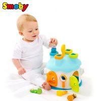 法国Smoby 智力六面盒 儿童形状配对玩具  婴儿积木1岁 智慧屋