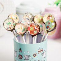 创意星空 星空棒棒糖6支糖果礼盒装送女生表白生日礼物零食喜糖创意手工糖