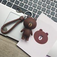 青橙 韩国钥匙扣创意卡通个性汽车男女可爱情侣创意简约公仔书包挂件