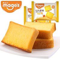 mages麦吉士 红枣原味切片蛋糕1000g小零食糕点全麦面包早餐食品