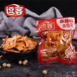逗客 重庆特产 麻辣食品香豆干小包装零食500g散装小吃豆腐干