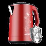 ASD爱仕达 AW-1522W 304不锈钢电热水壶 家用防烫烧水壶1.5L