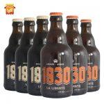 1830 比利时进口啤酒 琥珀棕色啤酒330ml*6瓶