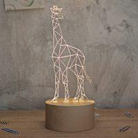 空明家 0023 北欧风创意装饰长颈鹿台灯 led日式卧室床头灯儿童动物台灯