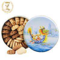 香港特产 珍妮聪明小熊 曲奇饼干640g四味奶油4mix礼盒装进口零食品