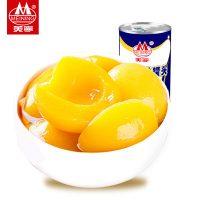M美宁 黄桃罐头水果罐头425g*3正品糖水黄桃食品