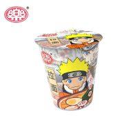 口乐 拉面新版三口味火影整箱12杯制作料包 一乐拉面方便面