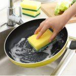 派耀 厨房去污洗碗刷锅刷碗清洁刷 双面魔力擦百洁布纳米海绵擦 12个装